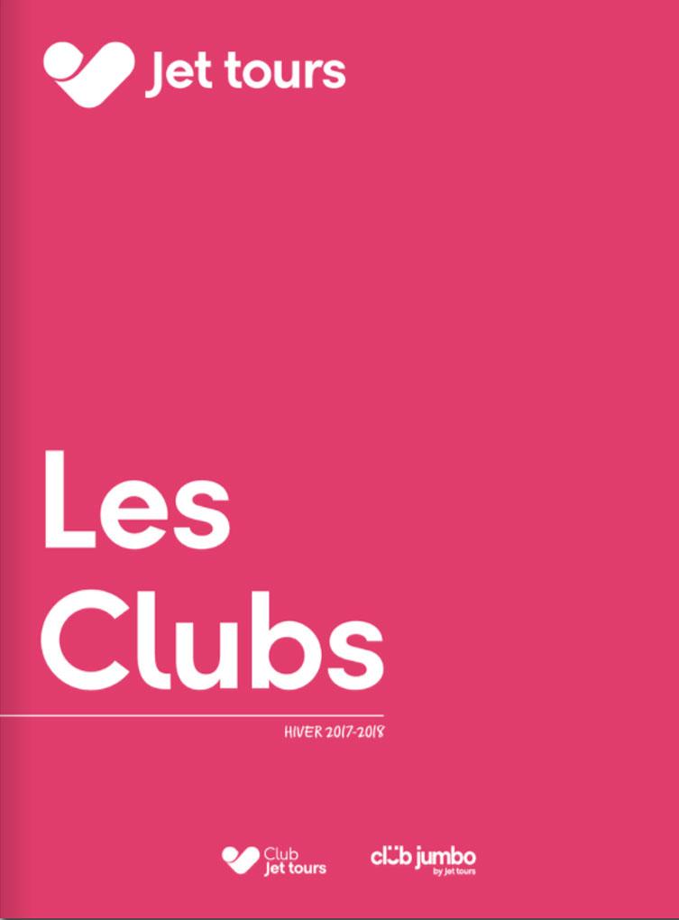 Brochure Jet tours Les clubs Hiver