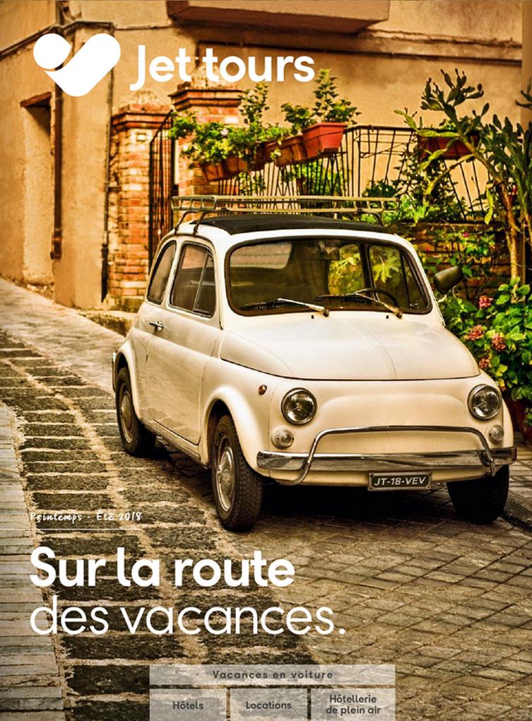 Brochure Jet tours Vacances en voiture