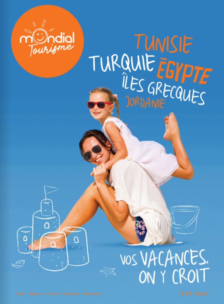 Brochure Eté MONDIAL TOURISME