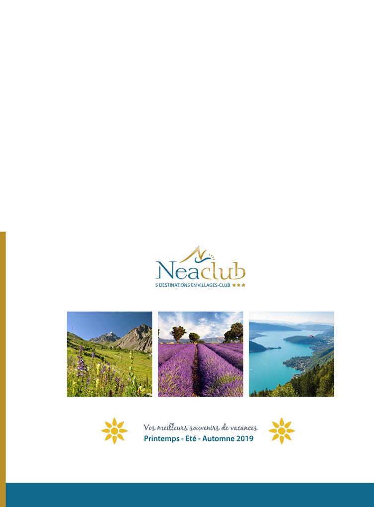 La brochure des villages vacances Neaclub