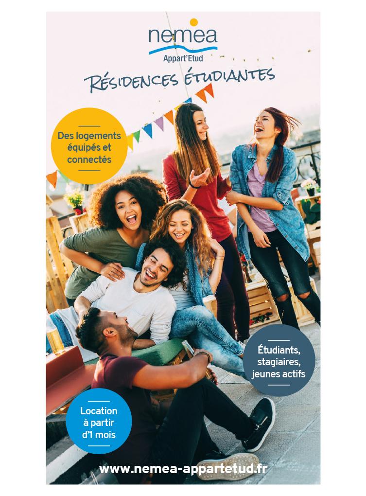 Brochure Nemea résidences étudiantes