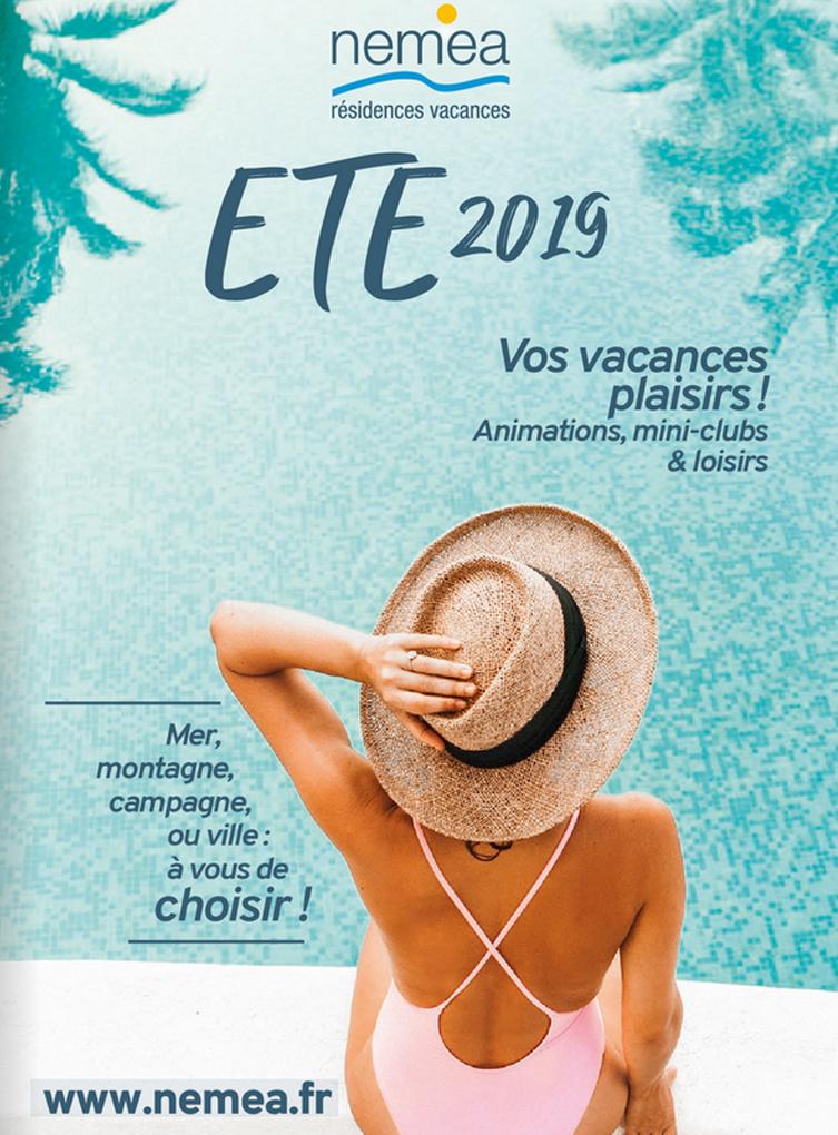 Brochure Nemea résidences vacances Eté