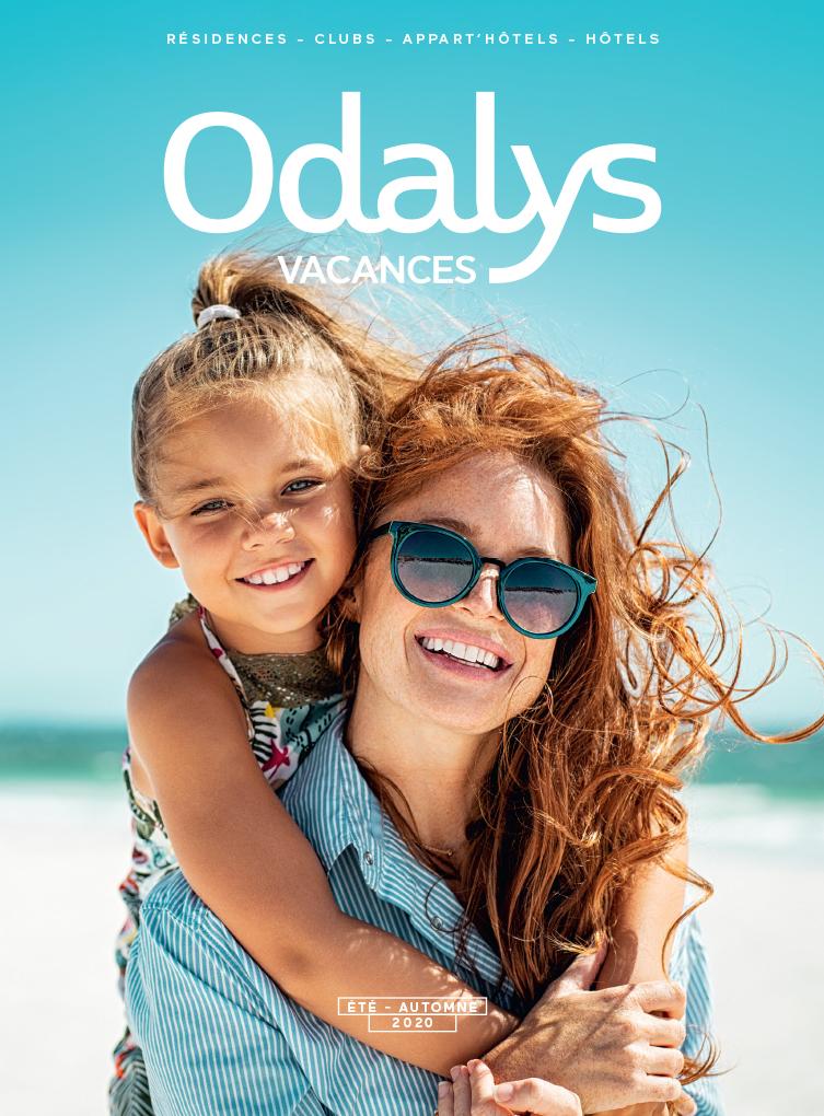 catalogue Odalys Vacances Eté Autome