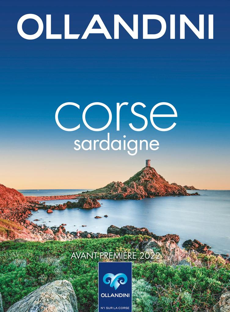 Ollandini - Corse Sardaigne brochure avant-première 2022