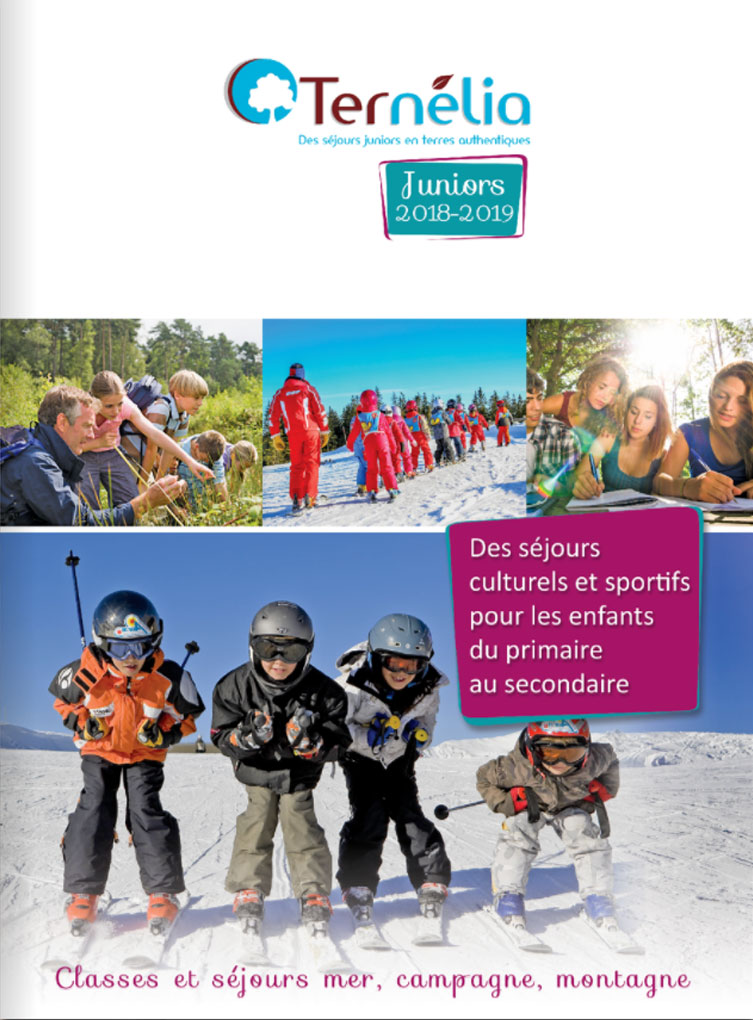 Brochure Ternélia - Juniors