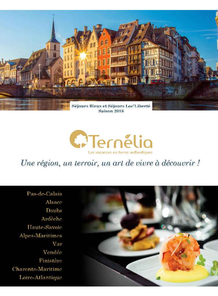 Brochure Ternélia - Séjours bleus Eté