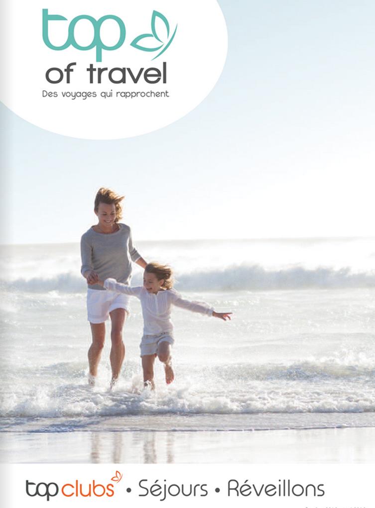 Top of travel brochure Séjours Hiver