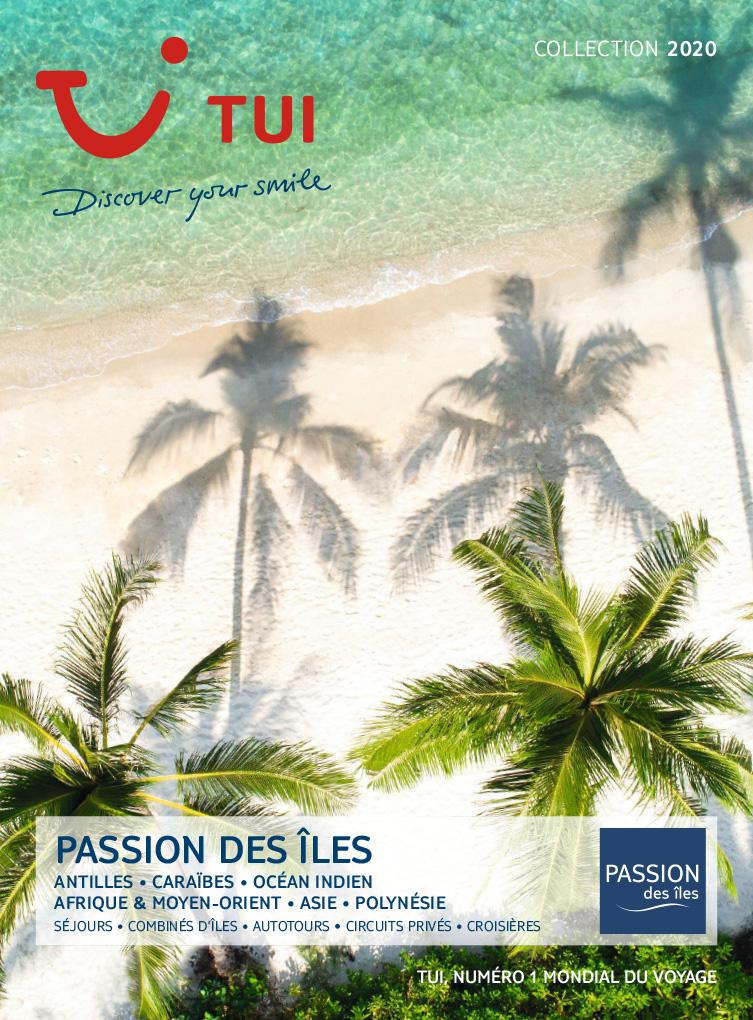 brochure TUI Passion des îles