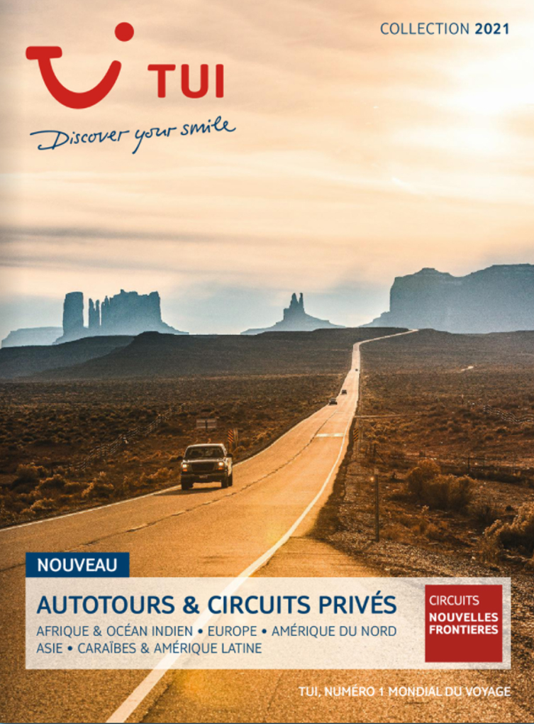 catalogue TUI Autotours Circuits privés