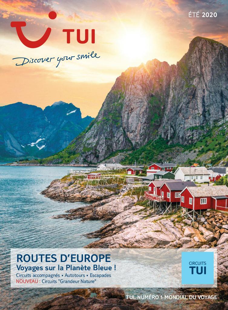 brochure TUI Routes d'Europe