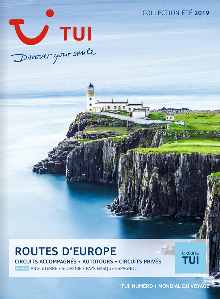 brochure TUI Routes d'Europe