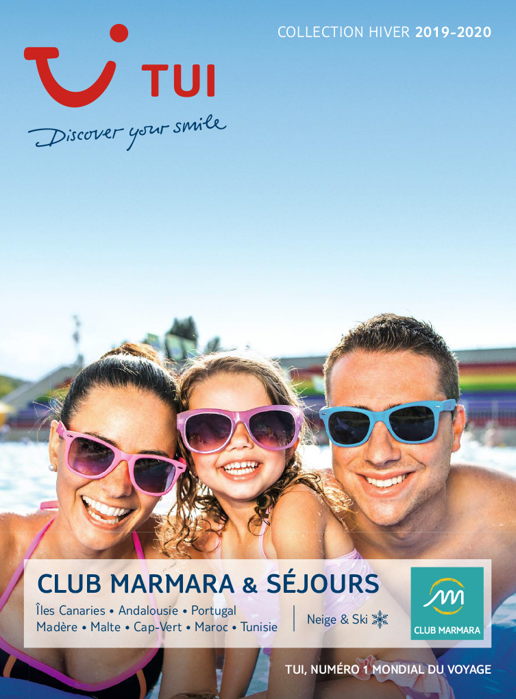catalogue TUI Collection Club Marmara Hiver