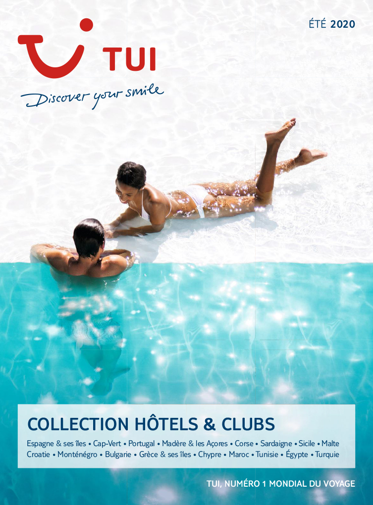 catalogue TUI Collection Hôtels & Clubs