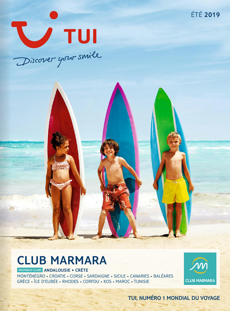 catalogue TUI Club Marmara Eté