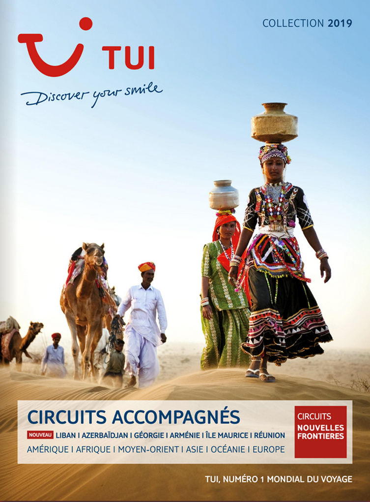 catalogue TUI Circuits Nouvelles Frontières