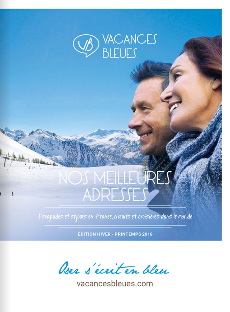 brochure Vacances Bleues Edition Hiver