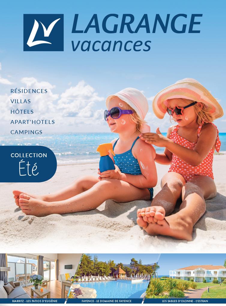 Brochure Vacances Lagrange Eté