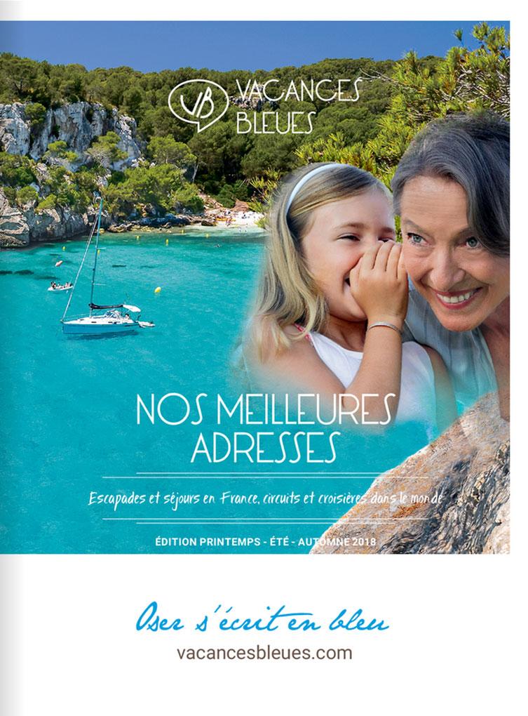 Vacances Bleues Catalogue Eté