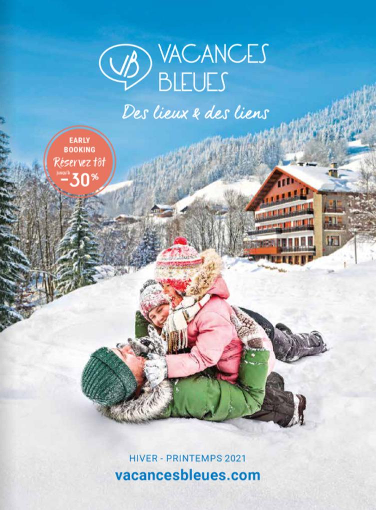 catalogue Vacances Bleues Edition Hiver