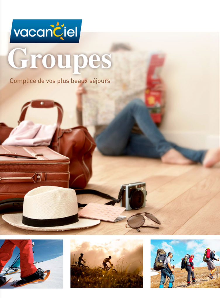 Catalogue Vacanciel Groupes