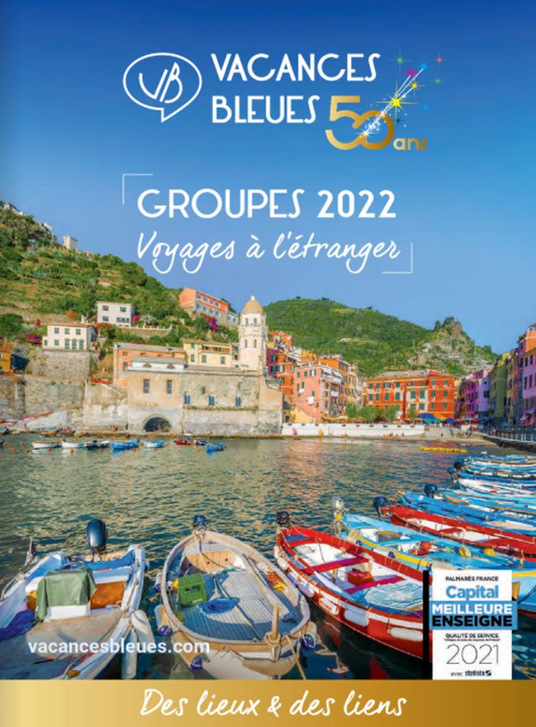 brochure Groupes Vacances Bleues