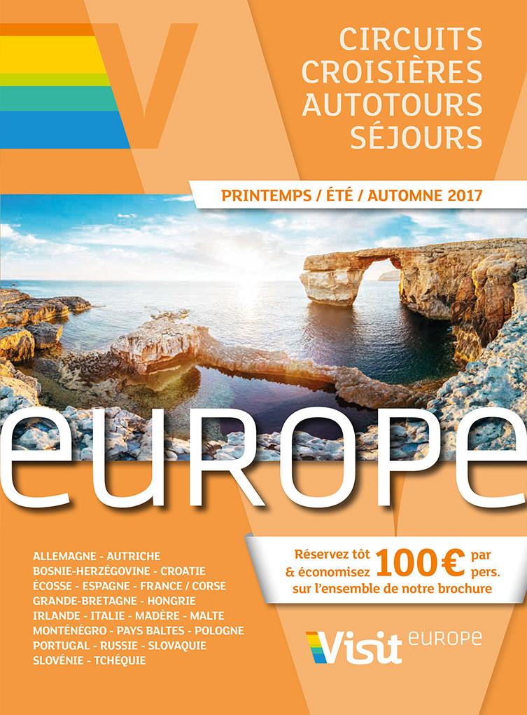 Visit Europe Printemps - Été - Automne 2017