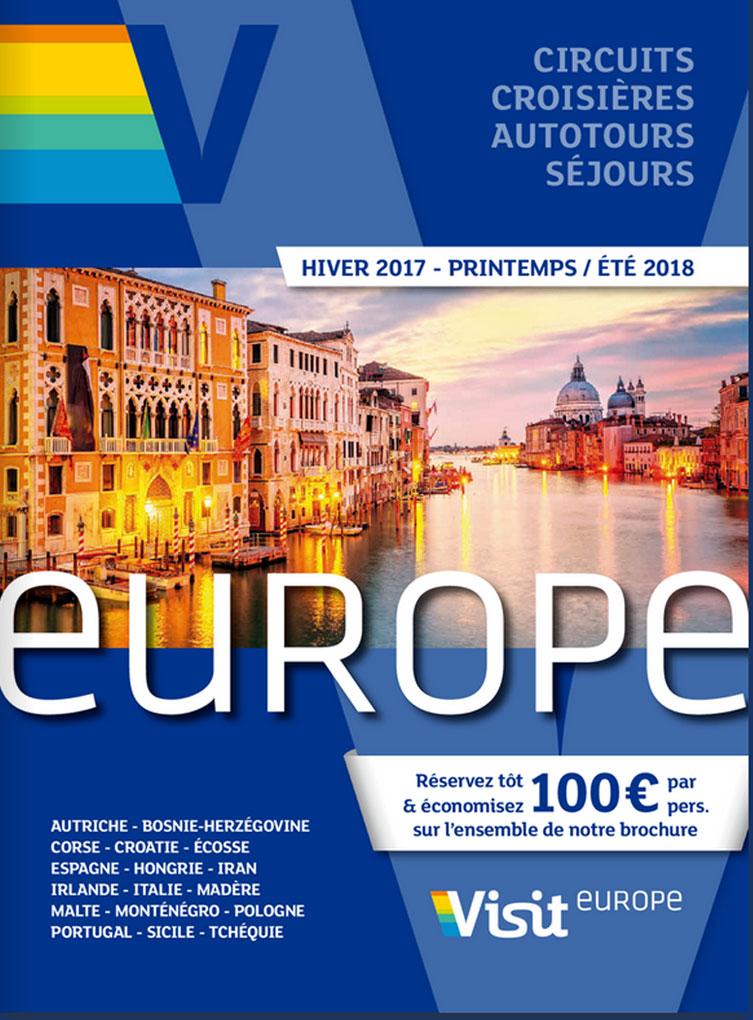 Brochure Visit Europe Hiver