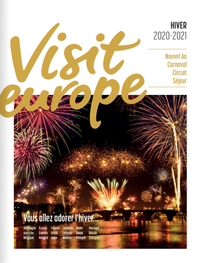 Catalogue Visit Europe Hiver 2020/21