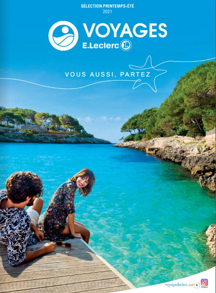 Catalogue Voyages E.Leclerc Eté