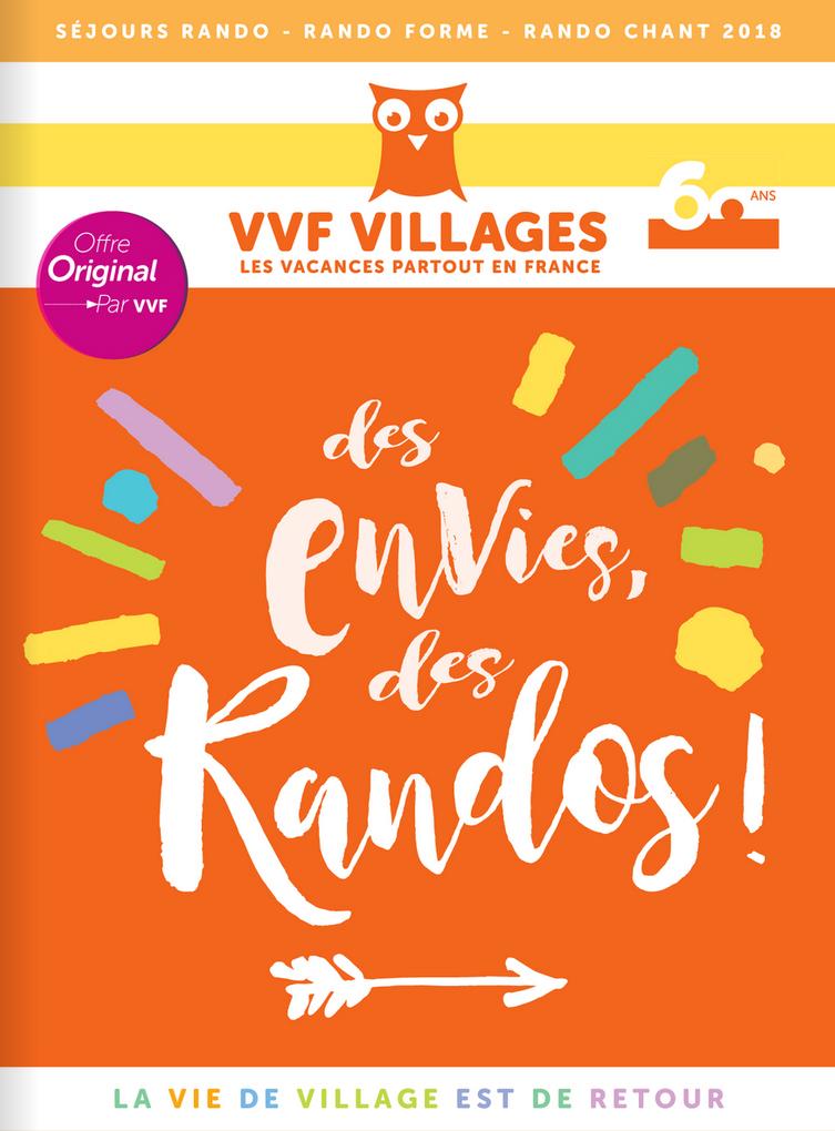 Brochure VVF VILLAGES Des Envies de Randos