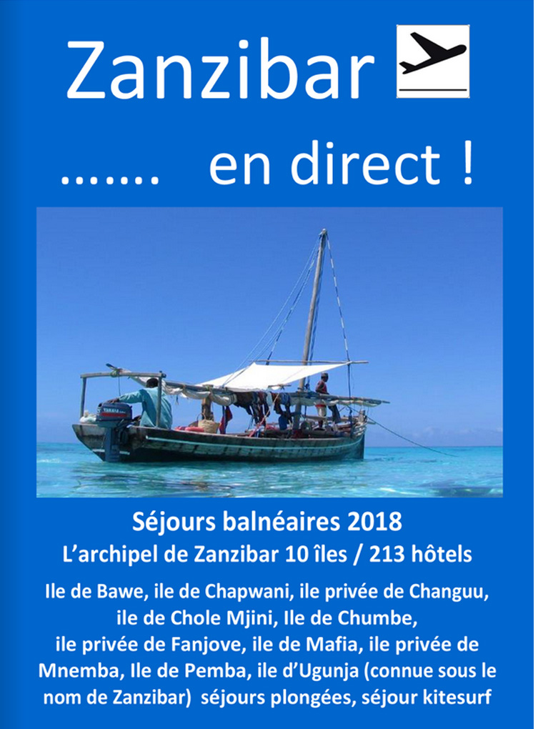 Catalogue Zanzibar en direct