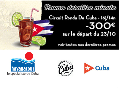 Offre Early Booking Circuit - HAVANATOUR