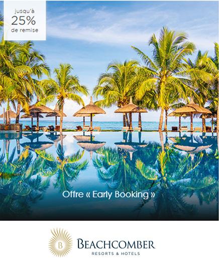 Offres voyages Beachcomber Tours