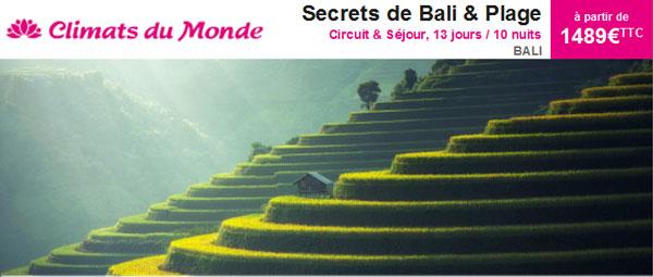 Climats du Monde - Bali