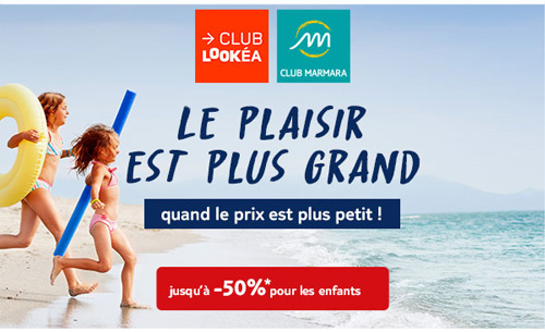 PROMOTIONS SEJOURS CLUB TUI