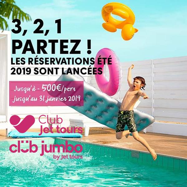 Club Jet tours - club jumbo