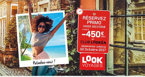 """Opération """"Réservez-tôt"""" de Look Voyages"""