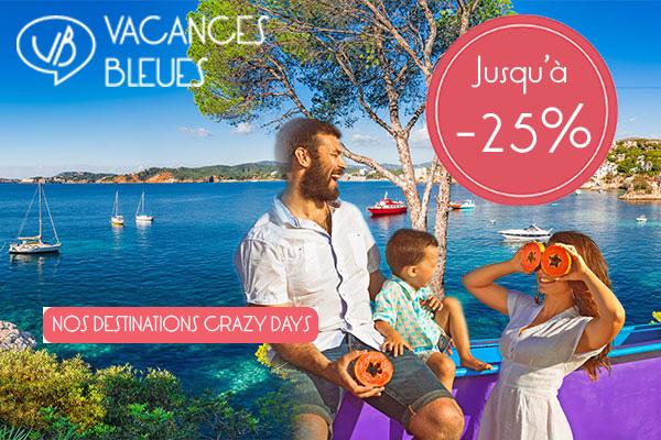 Les Crazy Days - Vacances Bleues