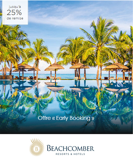 Offres voyages Beachcomber Tours