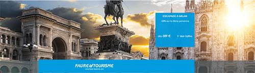 Offres de séjours Faure Tourisme