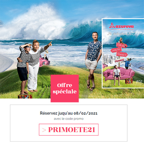 Offre PRIMO HIVER 2019 - Azureva
