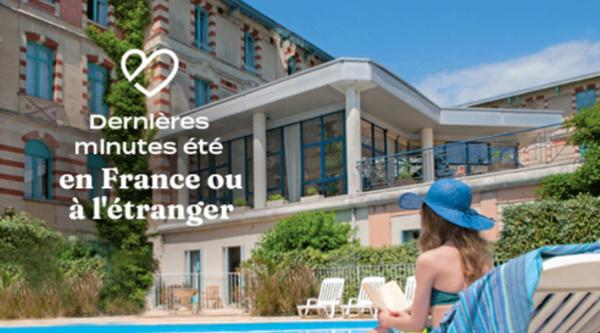 Dernières minutes Vacances Bleues